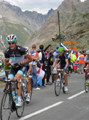 Andy Schleck on Galibier, Tour de France
